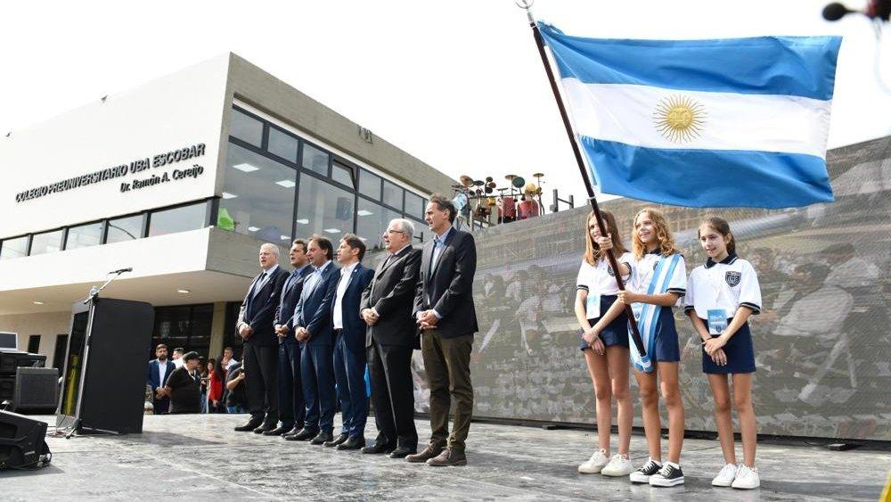Massa:»Educación pública, gratuita, de calidad e inclusiva: un valor fundamental para la Argentina»